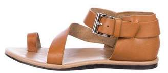 Donald J Pliner Leather Ankle-Strap Sandals