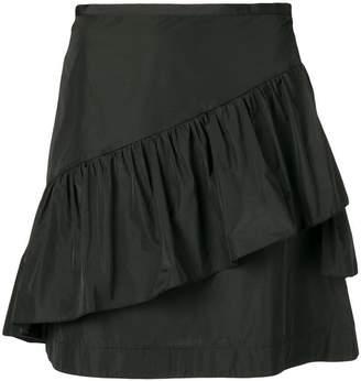 See by Chloe ruffle detailed mini skirt