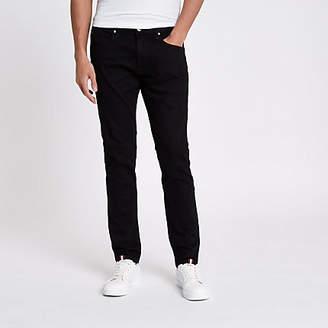 River Island Lee black slim fit tapered Luke jeans