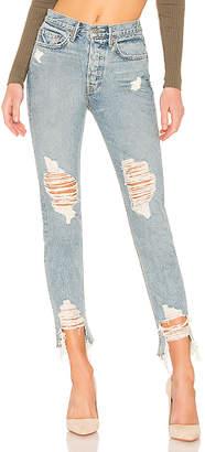 GRLFRND Karolina Crop High-Rise Skinny Jean.