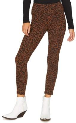 Sanctuary Grease Leopard Print Leggings