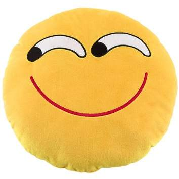 Betruststore Soft Emoji Cushion Cute Emoticon Pillow Comfortable Stuffed Plush Toy Doll