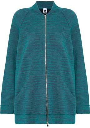 M Missoni Metallic Crochet-Knit Jacket