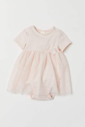 H&M Tulle dress with a bodysuit