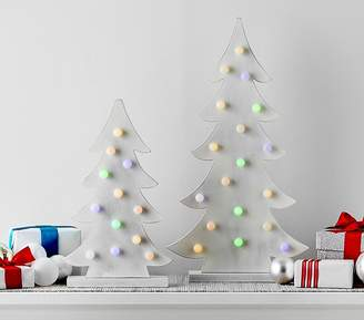Pottery Barn Kids Merry And Bright Light Up Trees - Small