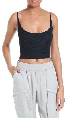 Women's Atm Anthony Thomas Melillo Rib Crop Camisole $90 thestylecure.com