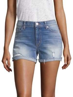 Hudson Valeri Rolled Denim Shorts