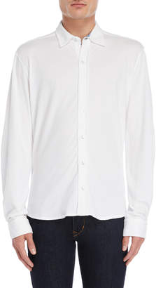 British Polo Collared Long Sleeve Button Shirt