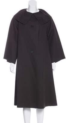 Lanvin Button-Up Long Coat