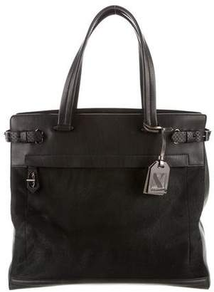 Reed Krakoff Ponyhair & Leather Boxer Bag