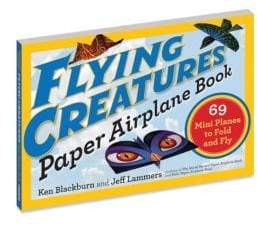 Workman Publishing Flying Creatures Paper Airplane Book