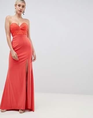 Jovani Thigh Split Maxi Dress