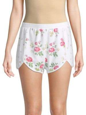 Wildfox Couture Lane Floral-Print Shorts