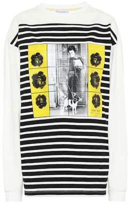 J.W.Anderson Gilbert & George printed cotton top
