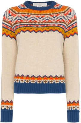 Golden Goose Momo Aztec intarsia jumper