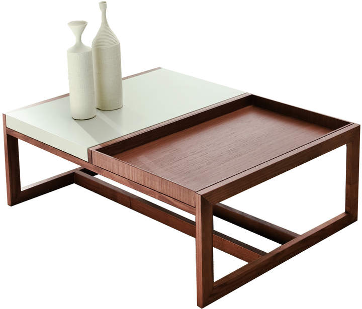 Cappellini Pacini e Mosaico Coffee Table - Small - Wenge