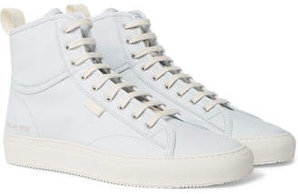 Common Projects Tournament Nubuck High-Top Sneakers - Men - Light blue