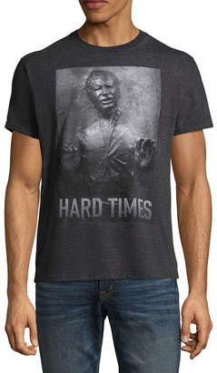 Star Wars Novelty T-Shirts Han Solo Hard Times Graphic Tee