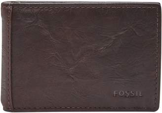 Fossil Neel Leather Money Clip Wallet