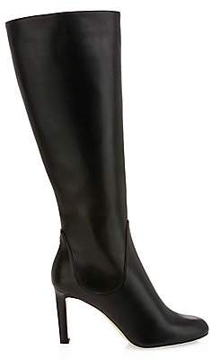 Jimmy Choo Women's Tempe Knee-High Leather Boots