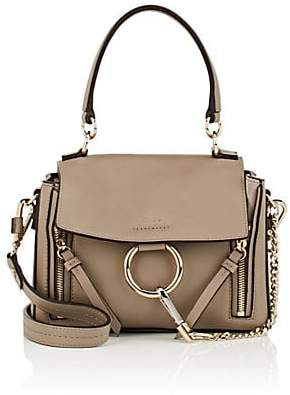 Chloé Women's Faye Day Mini Leather Shoulder Bag - Gray