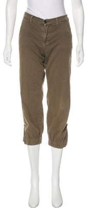 J Brand Mid-Rise Straight Pants