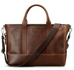 Shinola Medium Leather Briefcase