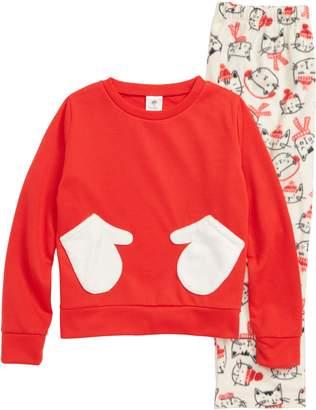 Tucker + Tate Plush Two-Piece Pajamas