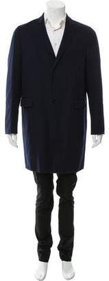 Valentino Wool & Cashmere-Blend Overcoat w/ Tags