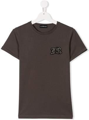 John Richmond Kids TEEN logo detail T-shirt