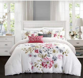 Chic Home Belleville Garden 5-Pc Queen Comforter Set Bedding