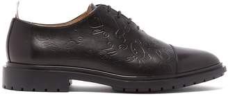 Thom Browne Wholecut Toy Icon-embossed leather brogues