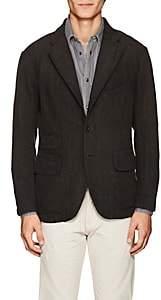 Rrl Men's Checked Cotton Three-Button Sportcoat-Black Size S