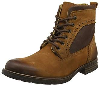 Steve Madden Footwear Men's Gannon Lace Up Boots,44 EU