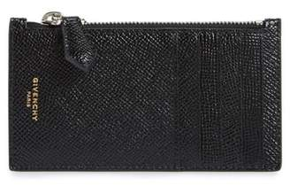 Givenchy Aros Zip Leather Wallet