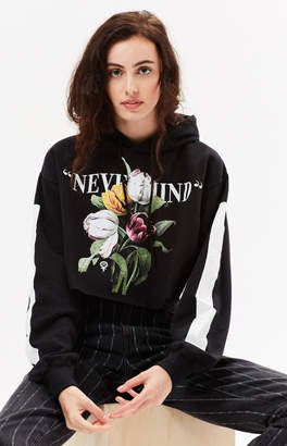 Civil Nevermind Cropped Hoodie