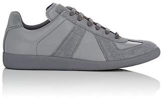 "Maison Margiela Men's ""Replica"" Leather & Suede Sneakers"
