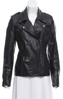 Maison Margiela Leather Moto Jacket