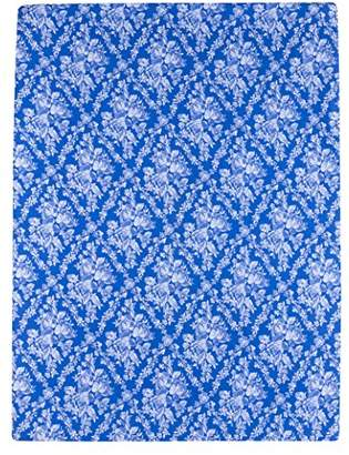 Camilla And Marc Eiffel Textile Printed Mattress Cover for Bed of 150, algodón-poliéster, Blue, 30 x 15 x 3 cm