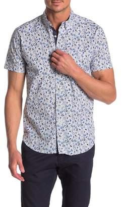 9edf229ce CONSTRUCT Mini Pine Short Sleeve Slim Fit Shirt