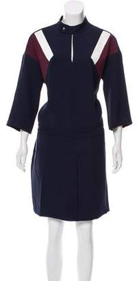 Lacoste Long Sleeve Knee-Length Dress w/ Tags