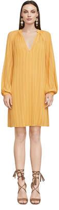 BCBGMAXAZRIA Codi Striped A-Line Dress
