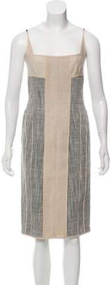 Narciso Rodriguez Linen Sheath Dress