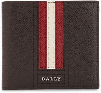 Bally Striped Saffiano Leather Classic Wallet 7812721877