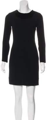 Diane von Furstenberg Embellished Mini Dress