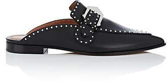 Givenchy Women's Elegant Studded Leather Mules - Black