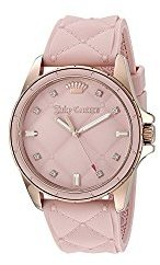 Juicy Couture Women's 1901371 Malibu Analog Display Japanese Quartz Pink Watch $71.99 thestylecure.com