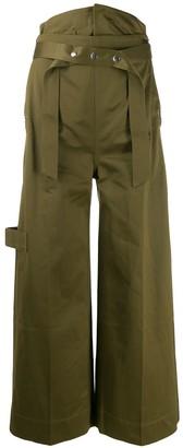 Reebok x Victoria Beckham wide-leg trousers