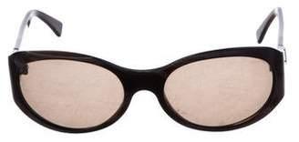 Fendi Printed Round Sunglasses