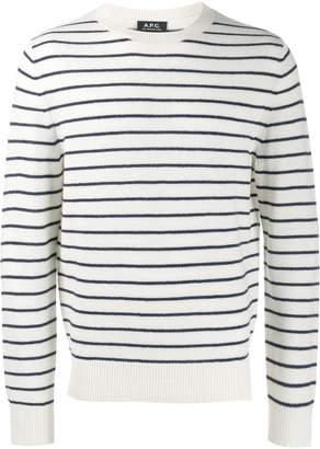 A.P.C. Gaspard striped sweater